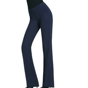 Cabi Style #968L Navy Trouser Polyester Size 4